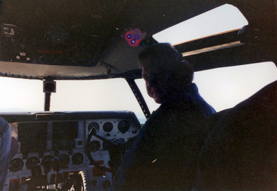 That's me Second in Command on the C-46 Commando