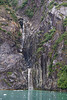 Twin Waterfalls in Tracy Arm.