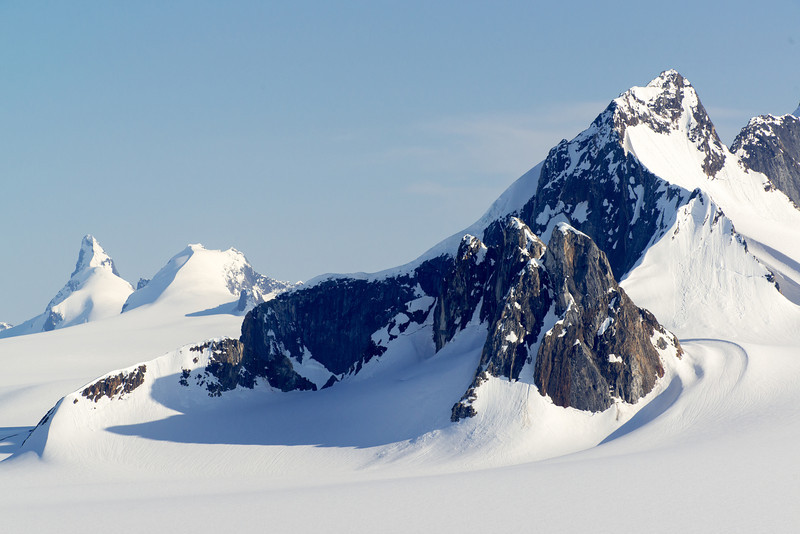 Juneau Icefields, birthplace of glaciers