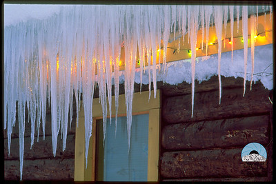Cabin Icicles