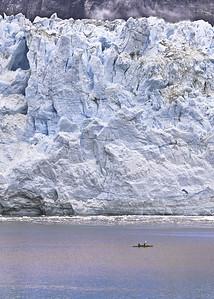Glacier at Glacier Bay, Alaska