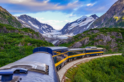 Majestic Views from the Alaska Rail Road