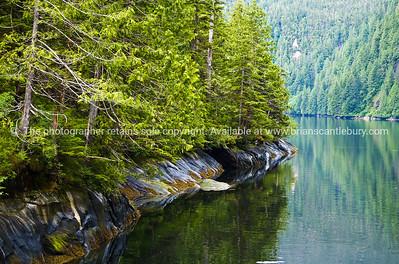 Scenic Alaskan fjords. SEE ALSO:   www.blurb.com/b/893025-north-to-alaska