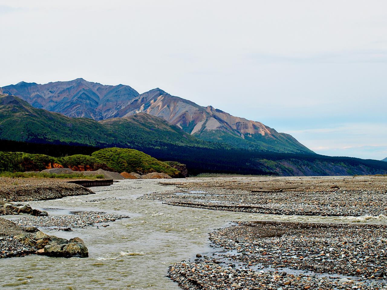 Toklat River in Denali National Park  By Troy Mellema  June 7, 2011  Order Code: C11