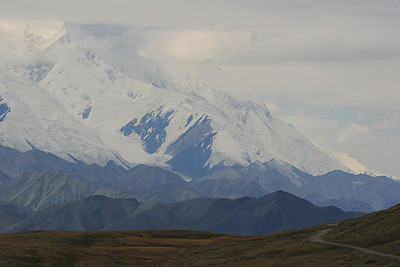 Polychrome Pass, Denali National Park, Alaska.