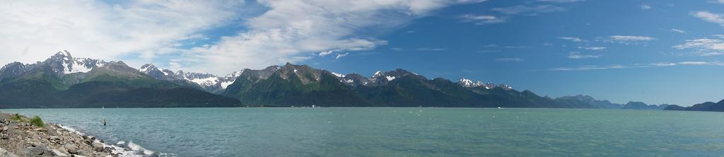 Seward View (6 Photo Panorama)