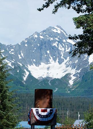 exit glacier view from Exit Glacier Hotel 1742