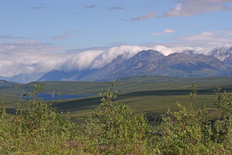 Alaska Range-Cloud Rollover