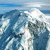 Aerial view of Mount McKinnley, Alaska. Also, known as Mount Denali. Denali National Park, Alaska, USA