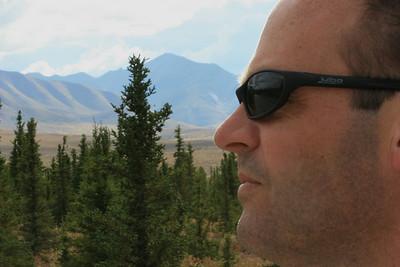 Overlooking Denali, Alaska.
