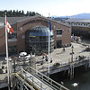 Bellingham Cruise Terminal from the deck of the Columbia. It's about 1,054 miles and three days to Haines, Alaska. Bellingham, Washington.