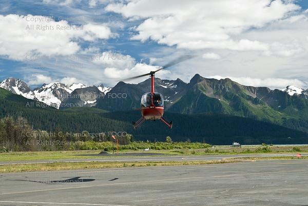 20070806-DSC_1915, Robinson 44 Landing - Seward
