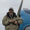 Our bush pilot.
