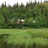 Our first view of Copper River Lodge.