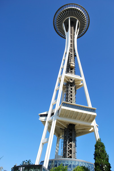 (3)Space Needle in Seattle Washington. (yes! we did go up in it)