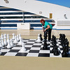 (49) First thing we find is a chess set...