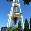 (4)  Bottom of the space needle in Seattle.