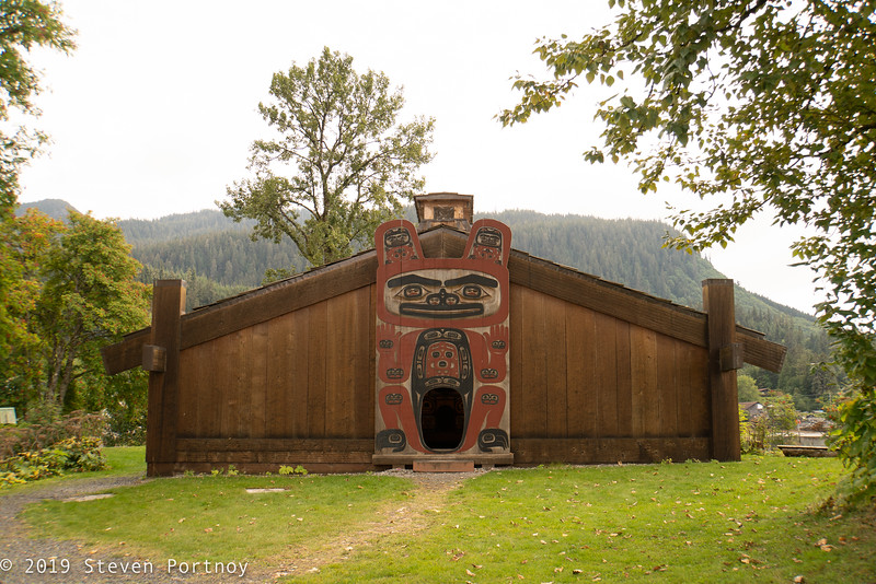 Wrangel, AK - Chief Shakes Tribal House