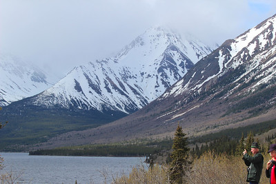 Another view from Skagway towards the Yukon.