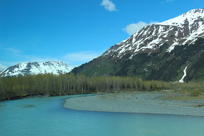 Another view on the drive from Seward to Anchorage AK.
