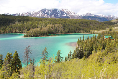 Another view of Emerald Lake.
