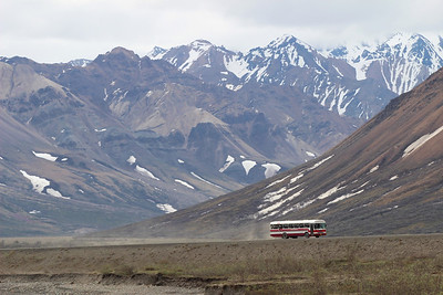 Our tour was conducted on a similar bus to this one.