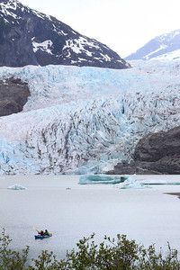 Juneau, AK - the Mendenhall glacier again.
