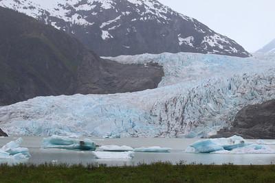 Juneau, AK - the Mendenhall glacier.