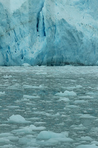 The Margerie glacier, view #1.
