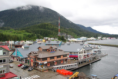 Ketchikan, Alaska's 1st city.