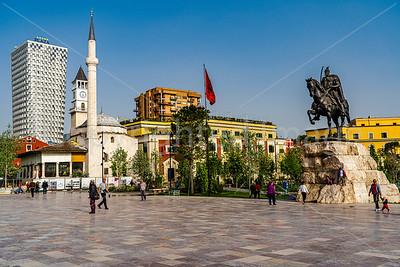 Skanderbeg Square-Tirana
