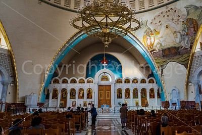 Interior of the Albanian Orthodox Church