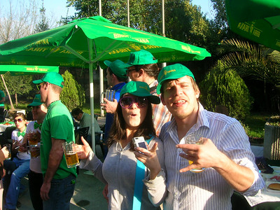 St. Patrick's Day Party at Tirana Brewery 2008