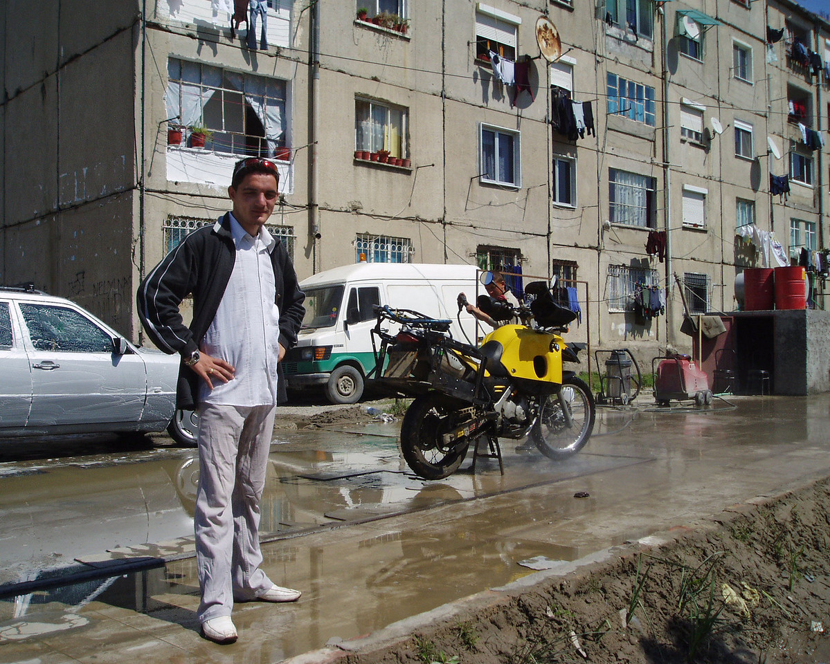 Bike wash. Durres