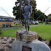 Statue of Mokare in Albany, Western Australia.