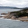 Coastal view near the port of Albany, Western Australia.