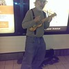 Ron busking in Edmonton subway