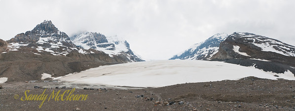Athabaska Glacier, part of the Columbia Icefield.