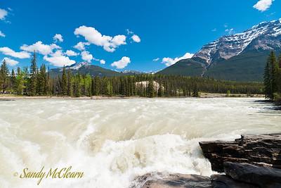 Athabasca Falls.