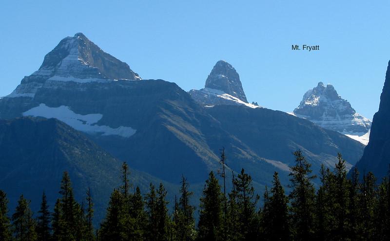 Some peaks in Jasper Park