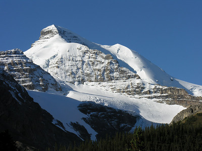 Mt. Athabasca seen from Sunwapta Pass.