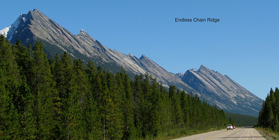East side of road to Jasper.