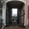 a keyhole archway