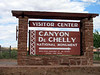 Arrived at Canyon de Chelly, near Chinle, AZ.