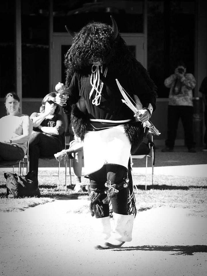 Pueblo Indian Dancer  - Buffalo Dancer  Order Code: B13