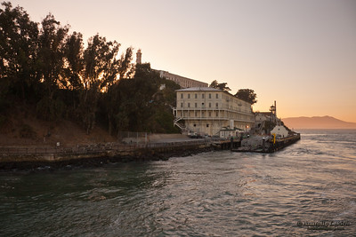 Alcatraz Island is often referred to as The Rock, the small island early-on served as a lighthouse, a military fortification, a military prison, and a Federal Bureau of Prisons federal prison until 1963