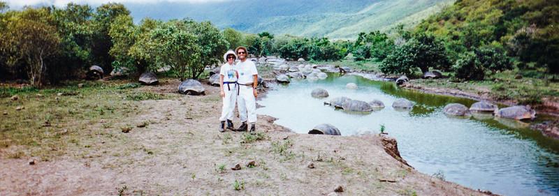 Alcedo Volcano, Galapagos Islands, Equador, May 1993