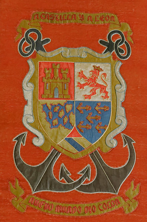 Castle and Lion Coat of Arms.