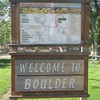 Boulder is a picturesque town.