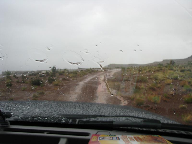 More muddy road.